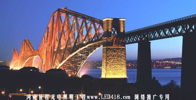郑州街道亮化工程公司 亮化 街道夜景亮化美丽图片