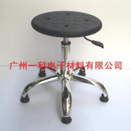 厂家生产定制防静电PU发泡升降凳子 流水线凳子椅子