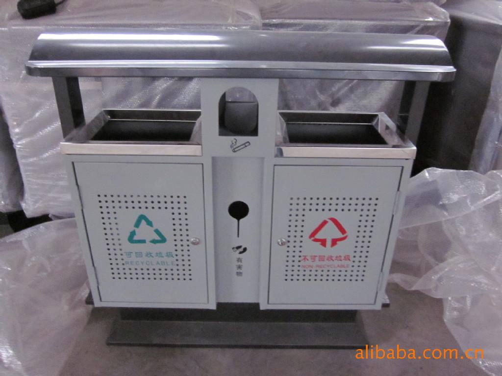 郑州濮阳分类垃圾箱,公园垃圾桶果皮箱图片