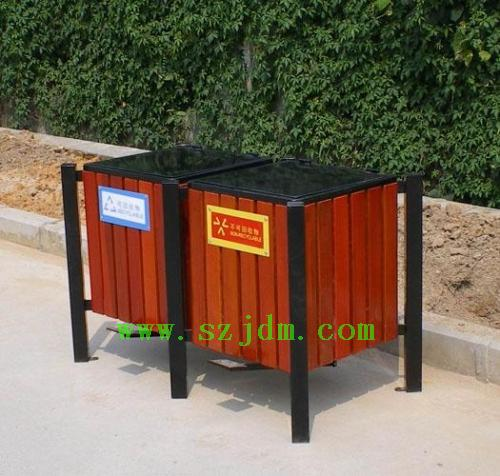 郑州钢木垃圾桶