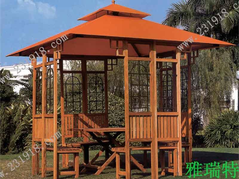 雅瑞特木凉亭用途:别墅花园