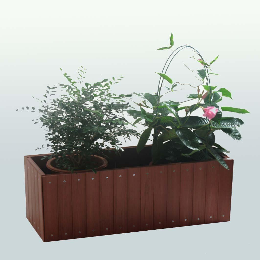 木制花箱,公园花箱,防腐花箱