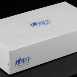 心相印D100商用白方盒盒装面巾纸