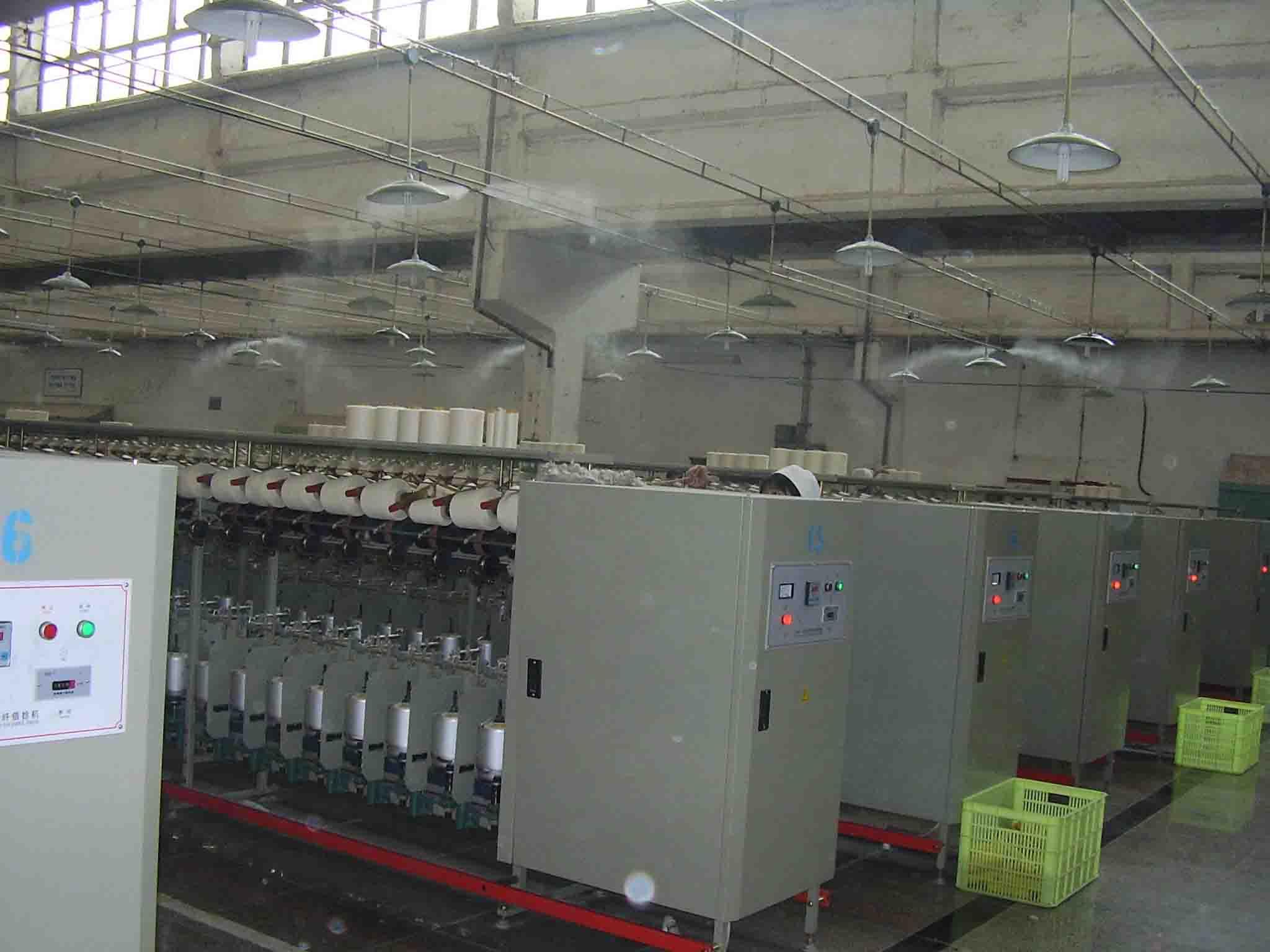 养鸡养猪场降温消毒加湿/大型养殖场喷雾降温系统/大型喷雾设备 厂房