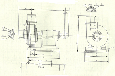 为4pn泥浆泵的结构图