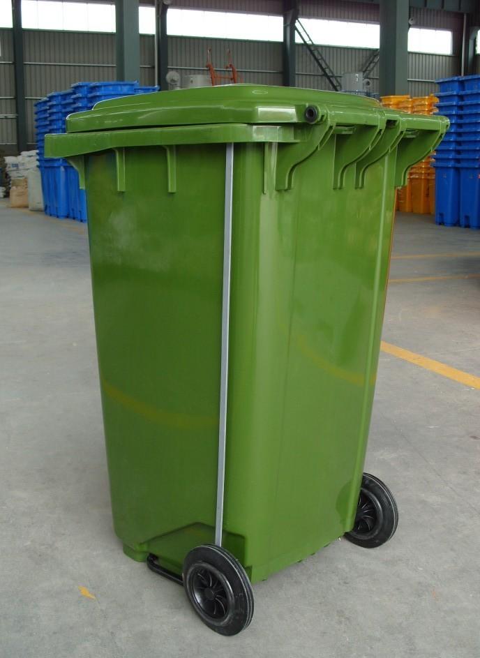 240升塑料垃圾桶/240升脚踩垃圾桶