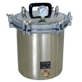 保定北京食品厂QS化验室检测仪器设备18L不锈钢高压灭菌锅