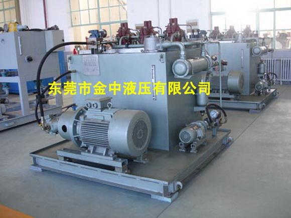 【聊城,威海,潍坊冲管机液压泵站 锯床液压泵站设计厂家】图片