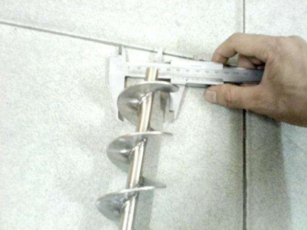 绞龙叶片制作图解