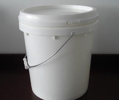 5l圆形塑料桶5升涂料桶5l防盗塑料桶