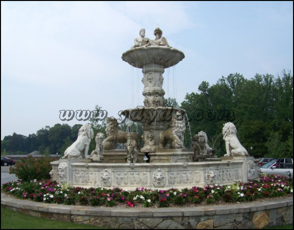 欧式石喷泉-景观喷泉-雕塑喷泉-欧式石喷泉