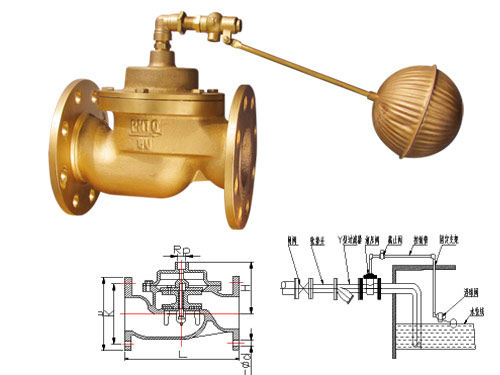 h142x-10t薄膜式液压水位控制阀 液压水位控制阀价格图片
