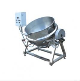 电加热夹层锅,300L可倾式搅拌夹层锅 ,导热油夹层锅