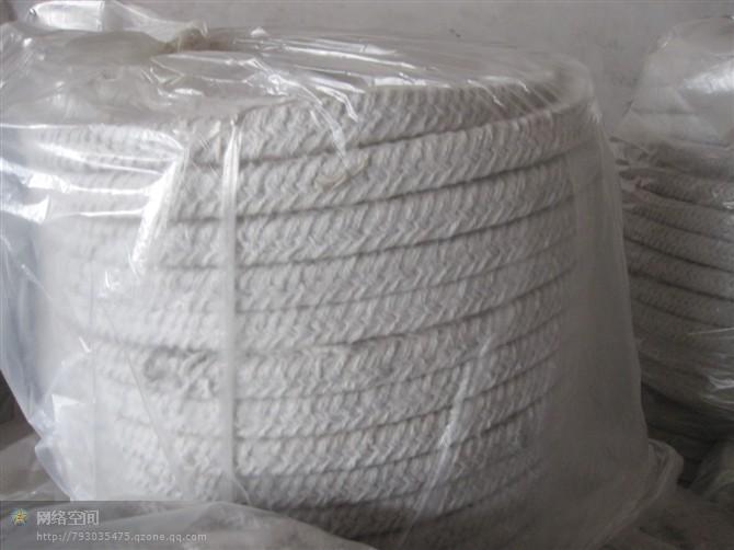 赤峰陶瓷纤维绳-通辽陶瓷纤维盘根-陶瓷纤维方编绳绳厂家直销