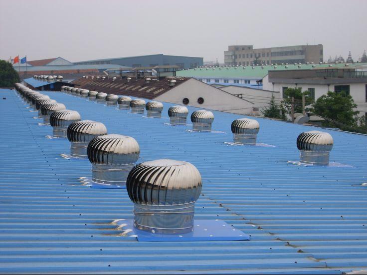 湖北】江苏】福建】钢结构厂房屋顶专用无动力通风器自动旋转排气