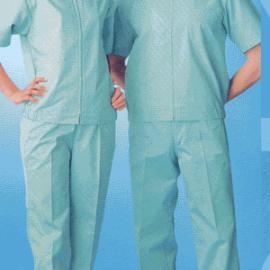 生产销售 吉林短袖防静电上装拉链 三分体防静电服 百级防静电服