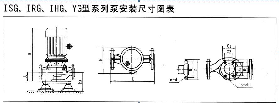 【kql50-160立式管道离心泵】