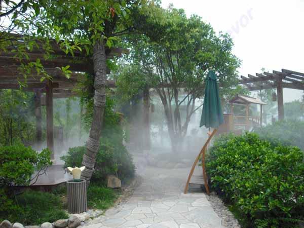 江西景观假山造雾,庭院人工自然造雾,风景区雾森系统