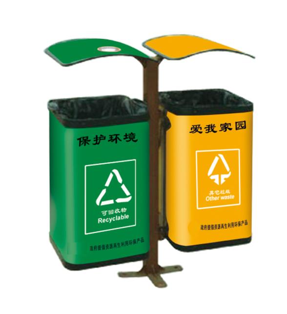 郑州环保垃圾桶,郑州新型材料垃圾桶果皮