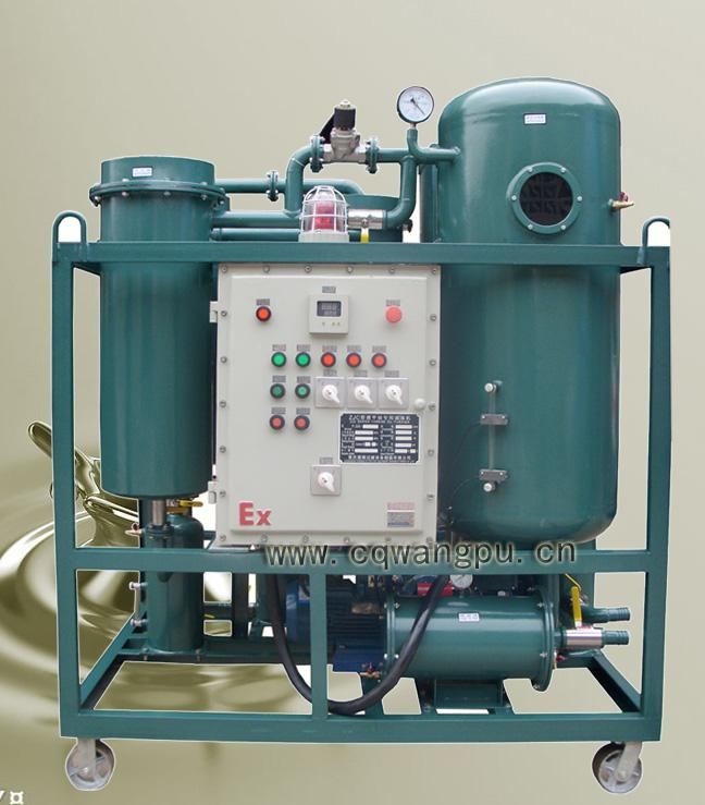 ZJC防爆型汽轮机透平油专用滤油机