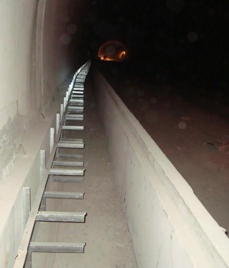 高速公路隧道机电安装电缆沟支架|smc电缆支架