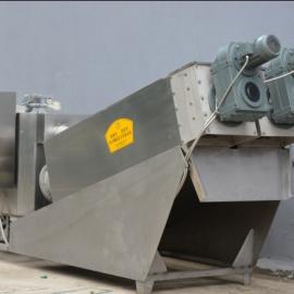 供应 DLW300中型叠螺动片螺旋式污泥脱水机