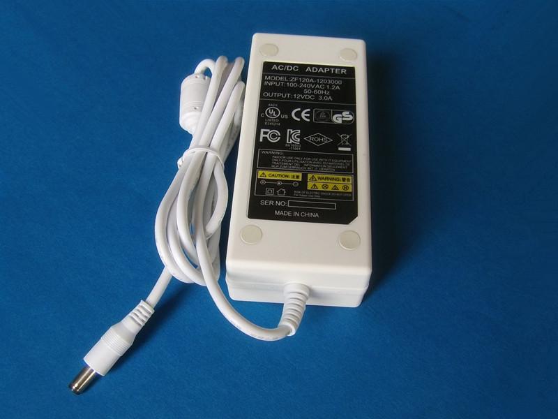 dc12v白色开关电源适配器