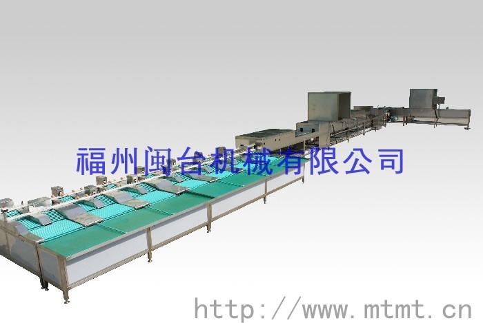 全自动蛋品清洗分级机(mt-100-2)