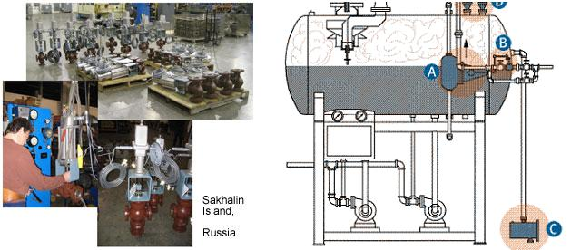 controls阀门,为脱氧器和锅炉设计的warren controls液位控制阀,还有图片