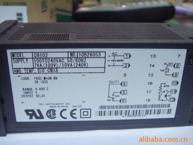 温控器的核心控制算法为PID控制,P(Proportional)比例+I(Integral)积分+D(Differential)微分控制。RKC除了传统PID控制算法外,还有ON-OFF控制、自整定参数控制,自适应参数控制等算法,温度控制稳定时间短,相应速度快。 RKC温度控制器是对工业加热设备进行控制的微电脑熊。工业温度控制器所控制的工业设备温度范围一般在-199--3000。加热机构一般采用继电器或者固体继电器的形式来进行,温控器根据热电偶发回来的信号读取实际温度,然后把这个实际温度值跟设定温度值进