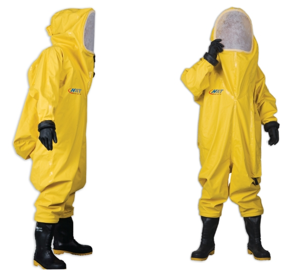 液氨气防护服-冷冻库氨泄漏防化服、防毒衣-液