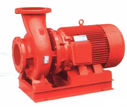 XBD-W卧式单级电动消防泵增压管道离心泵单吸消防喷淋