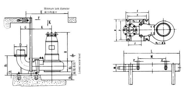 wq潜水泵-潜水泵-wq潜水泵安装尺寸-wq潜水泵型号