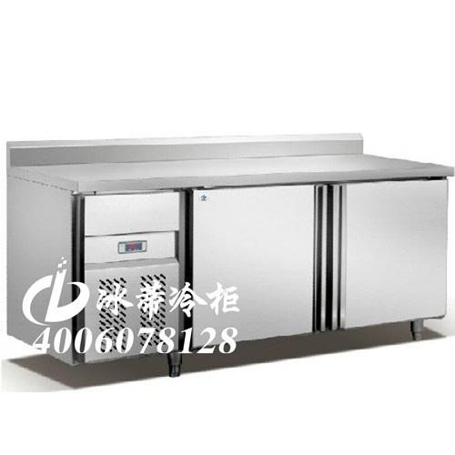 【龙岗厨房冰柜】深圳奶茶店专用不锈钢工作台,咖啡厅