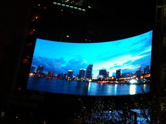 p10户外全彩led显示屏|户外广告|南宁led全彩大屏幕