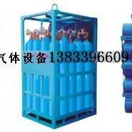 氮气瓶组集装格-储存氮气瓶组架
