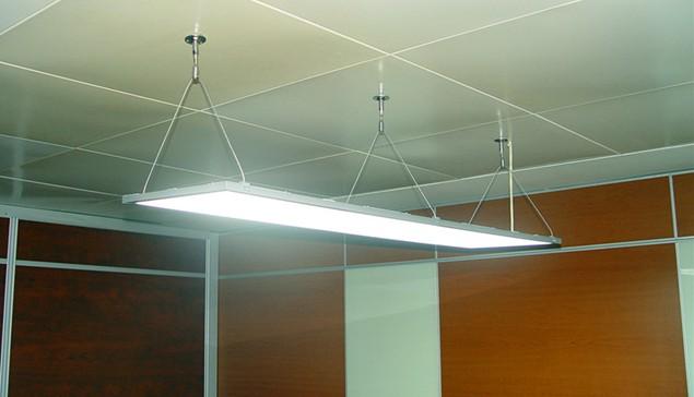 led面板灯有三种安装方法