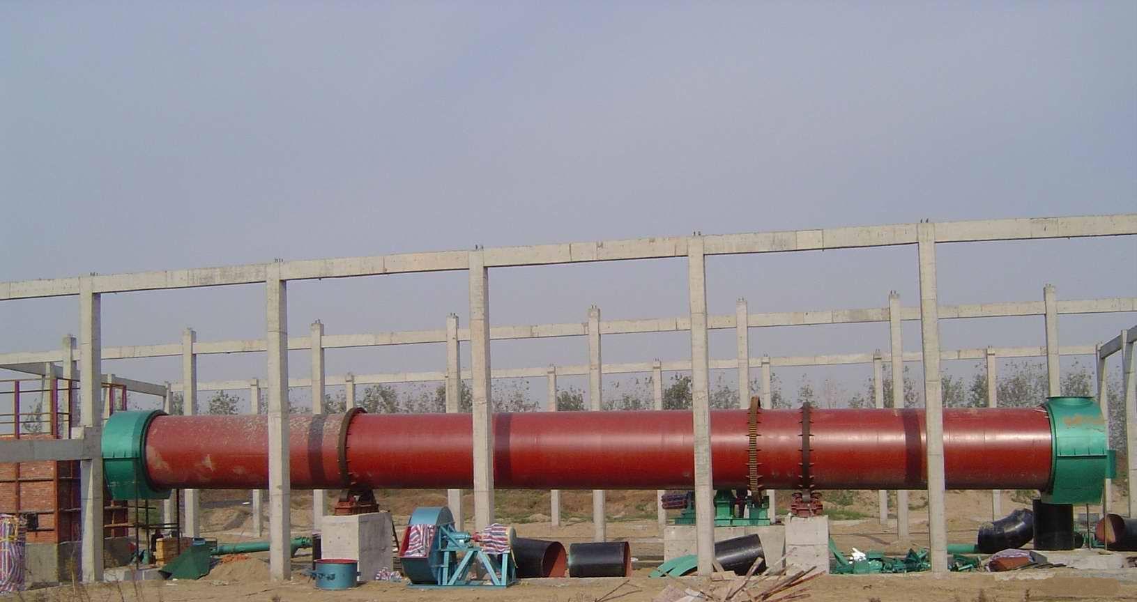 河南郑州胶州3.2米×25米大型污泥烘干机价格 - 中国供应商