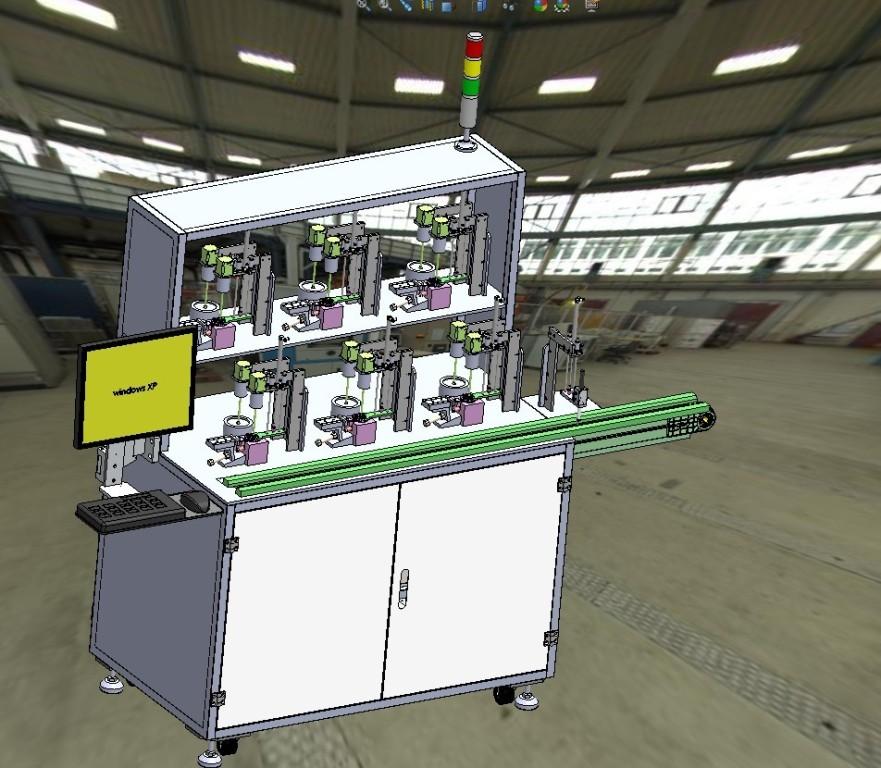 水位传感器自动化测试设备