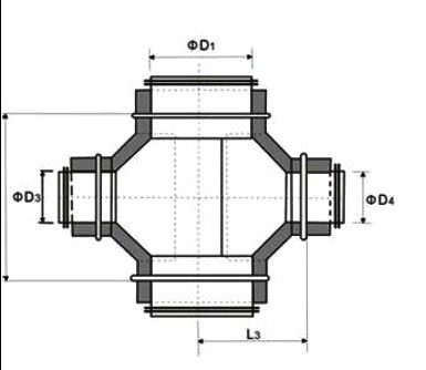 结构图样: 产品特点:    耐磨保温马鞍四通成形是将大于耐磨保温马鞍