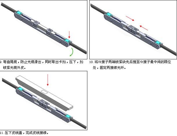预埋式光纤快速连接器【南京长江大桥】冷接头
