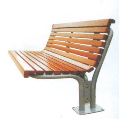 钢木靠背椅