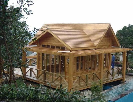 木屋框架结构设计图