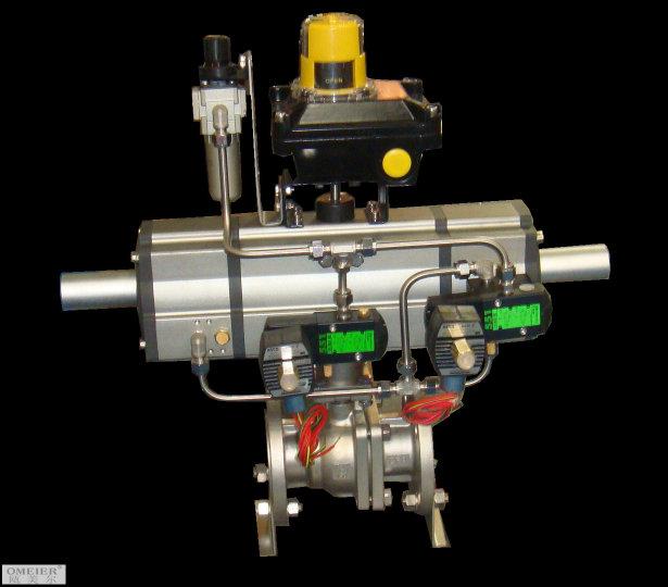 气动三段式执行器图片