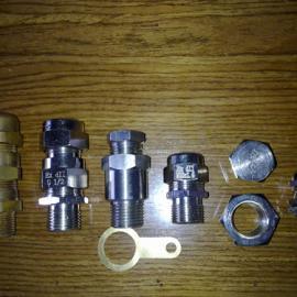 防爆锁紧电缆接头  黄铜镀镍 不锈钢