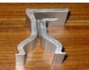 角驰三夹具 彩钢瓦屋面夹具 铝合金夹具