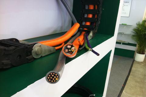 坦克链专用拖链电缆