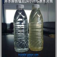 山东井水过滤器,惠州水处理,井水变黄浑浊含铁超标