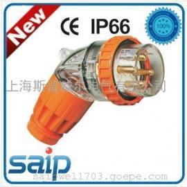 电缆连接器,500V16A3P插头 工业防水插座插头,