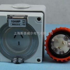 奇胜防水插头插座 工业防水插头插座 户外
